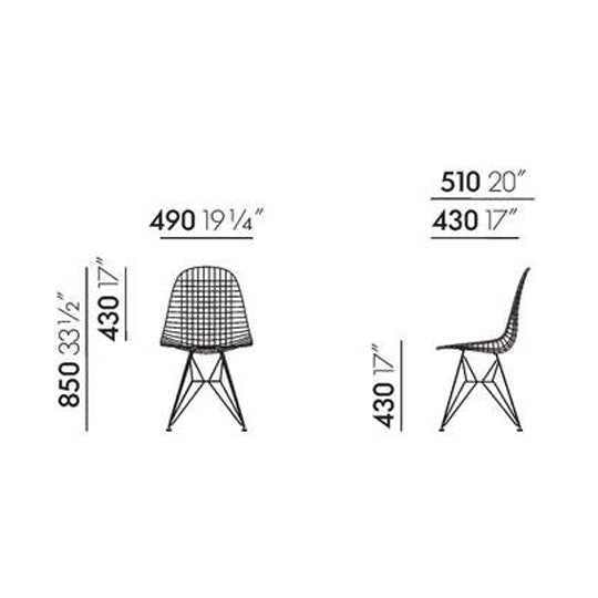 Vitra<br><b> Wire Chair DKR</br></b>
