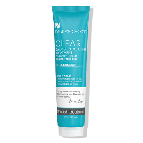 Kem trị mụn viêm, mụn bọc Paula's Choice Clear Extra Strength Daily Skin Clearing Treatment with 5% Benzoyl Peroxide