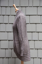 Zoe Cardigan-Alicia Peru Sustainable Alpaca - side view