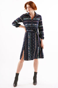 Finley Taos Cotton Print Shirt Dress