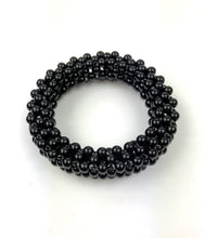 Angela Caputi Black Beaded Bangle Set