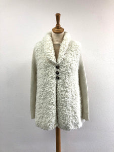 Evelyn Suri Alpaca Hand Knit Cardigan