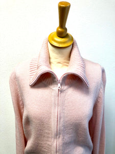 Betty Zip Alpaca Cardigan