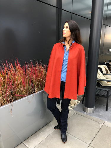 Columbia Alpaca Cape