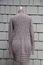 Zoe Cardigan-Alicia Peru Sustainable Alpaca - back view