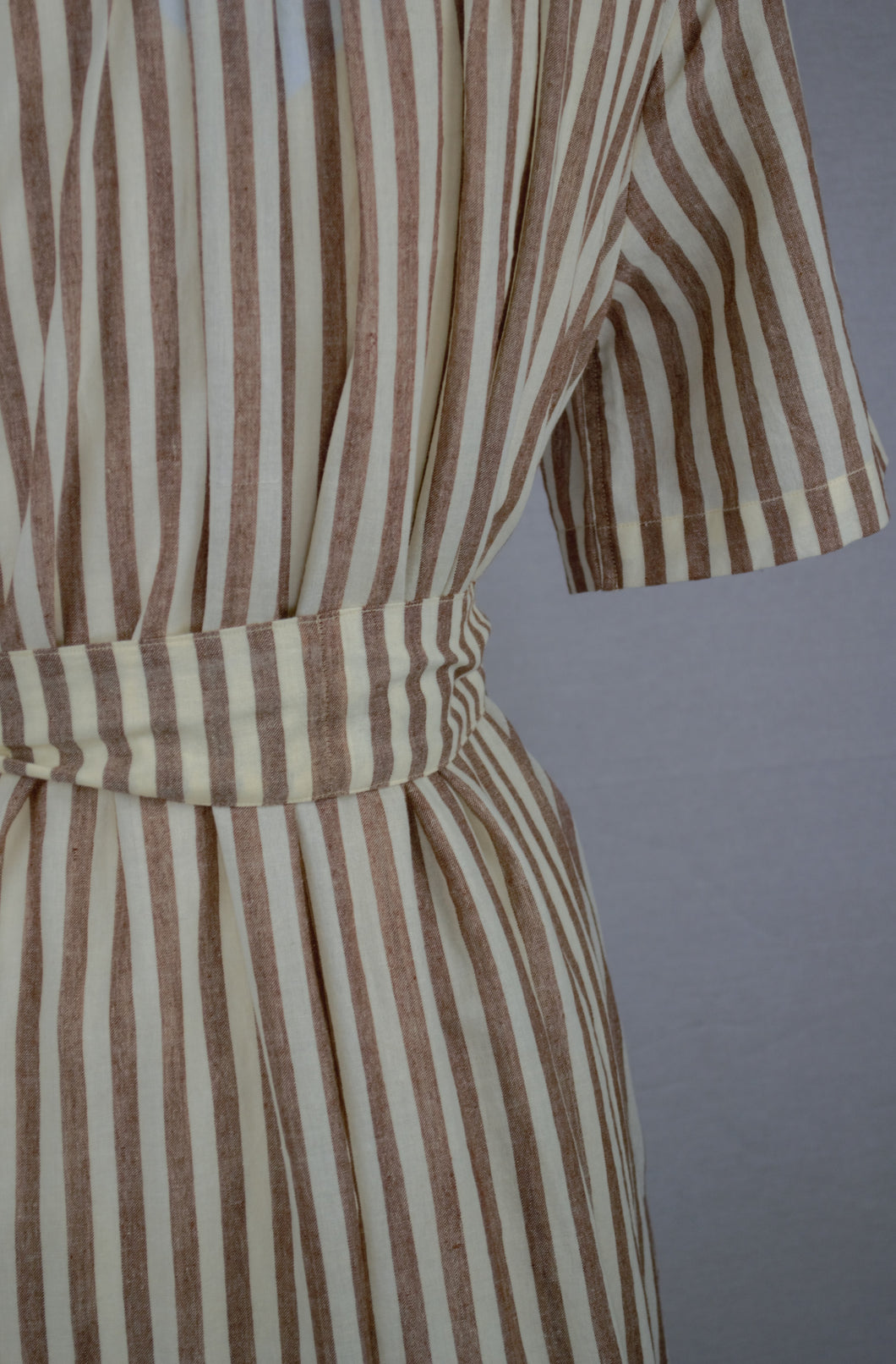 Stripe Aish Cotton Shirt Dress