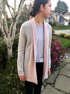 Elisa Alpaca Long Cardigan