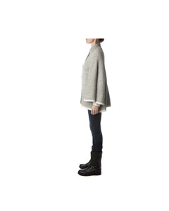 London Cape-Alicia Peru Sustainable Alpaca - side view