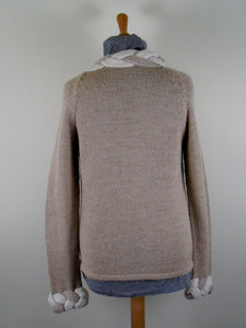 Quenko Sweater-Alicia Peru Sustainable Alpaca - back view