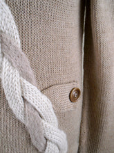Quenko Sweater-Alicia Peru Sustainable Alpaca - sweater body detail
