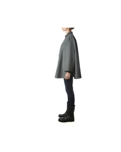 Roma Cape-Alicia Peru Sustainable Alpaca - side view