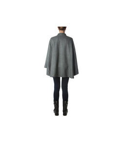 Roma Cape-Alicia Peru Sustainable Alpaca - back view