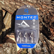 Load image into Gallery viewer, Montec G5 Broadheads - 100gr 3 pack