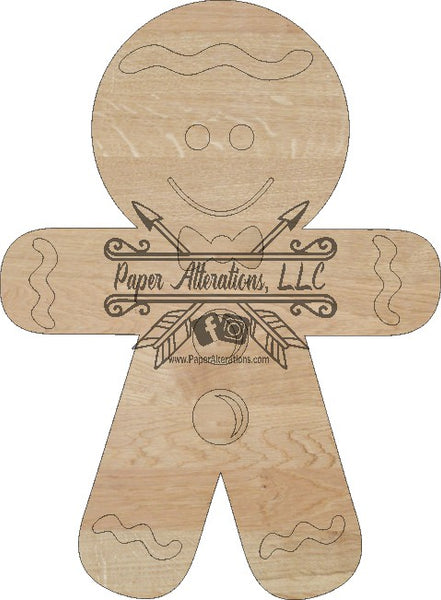 Blank - Gingerbread Man