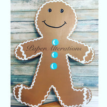 Load image into Gallery viewer, Painted - Gingerbread Man