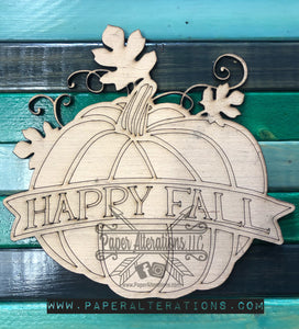 Blank - Happy Fall Pumpkin