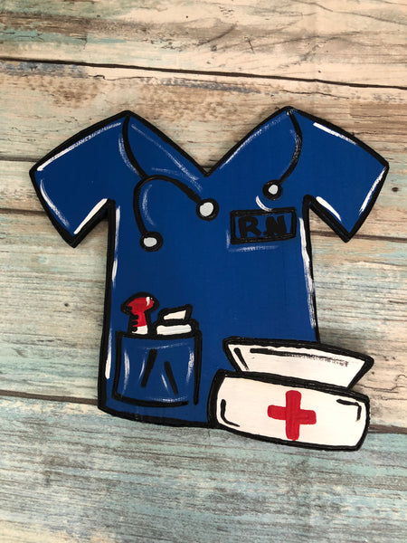 Painted - Nurse Scrubs