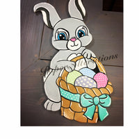 Painted - Easter Bunny with Basket