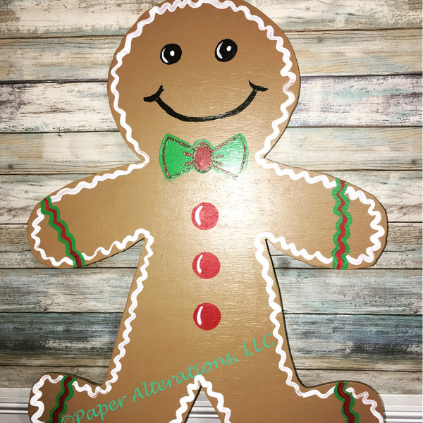 Painted - Gingerbread Man