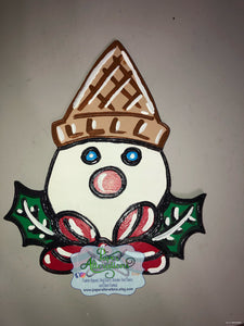 Painted - Mr. Bingle 1