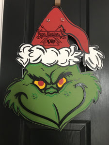 Painted - Grinch face