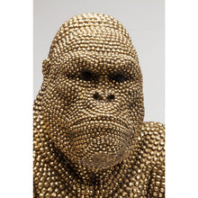Load image into Gallery viewer, Deco Figurine Gorilla Gold: different sizes available