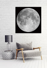 Load image into Gallery viewer, The Moon 100x100cm