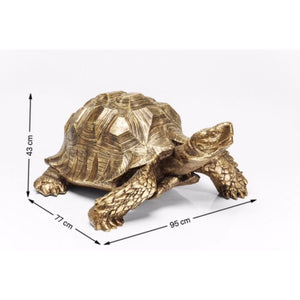 Deco Figurine Turtle Gold: different sizes available