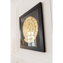 Load image into Gallery viewer, Deco Frame Golden Snail 120x120cm
