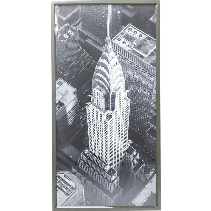 Picture Frame Chrysler Building View 166x86cm