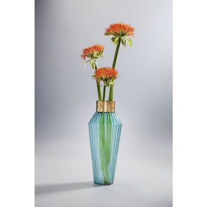 Vase Barfly Light Blue 43cm