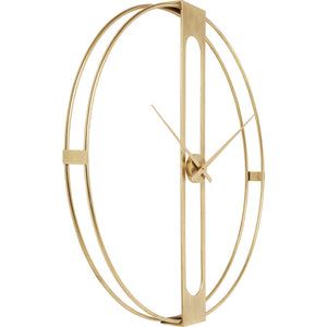Wall Clock Clip Gold: different sizes available