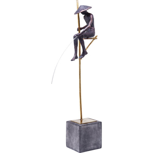 Deco Figurine Stilt Fischer Man