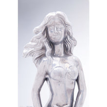 Load image into Gallery viewer, Deco Figurine Mermaid Silver