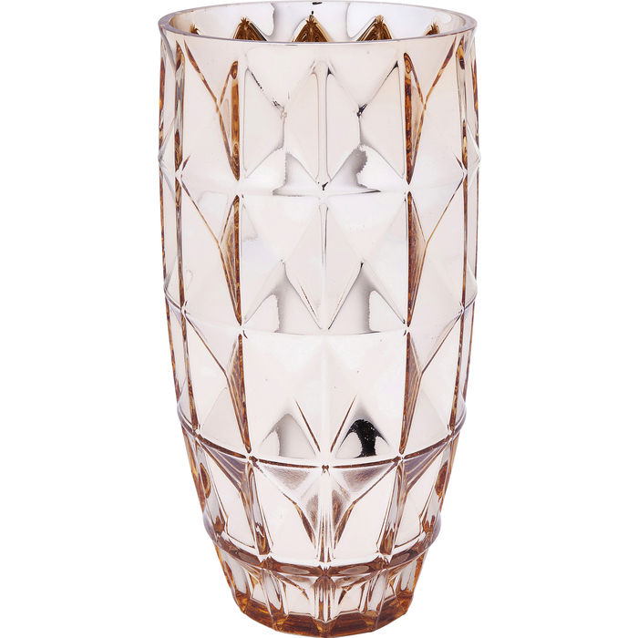 Vase Precious Triangle Gold 32cm