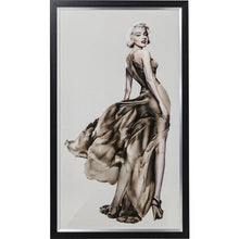 Load image into Gallery viewer, Picture Frame Marilyn 172x100cm