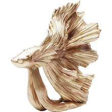 Load image into Gallery viewer, Deco Figurine Betta Fish Gold: different sizes available