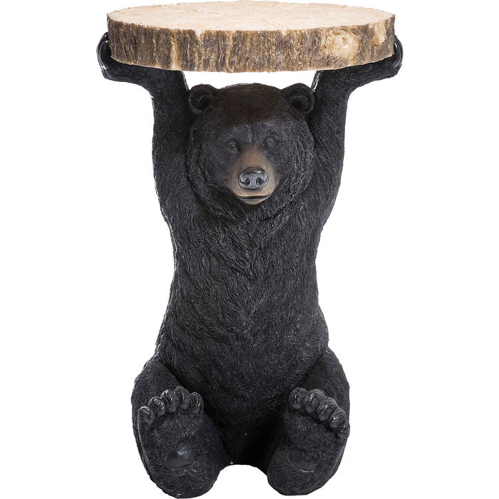 Side Table Animal Bear Ø33cm
