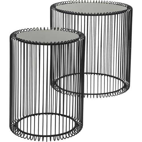 Table basse Wire (2/set): différentes couleurs disponibles