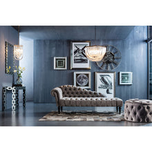 Load image into Gallery viewer, Seating Chest Desire Round Velvet Silver