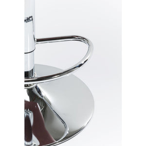 Set of 2 Bar Stools Monaco Nougat