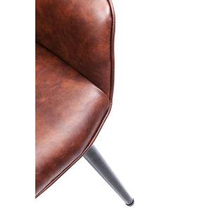 Set of 2 Chairs with Armrest Harry Brown