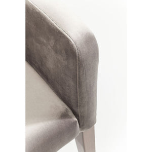 Chair with Armrest Mode Velvet: different colors available