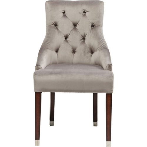 Chair Prince Velvet Grey