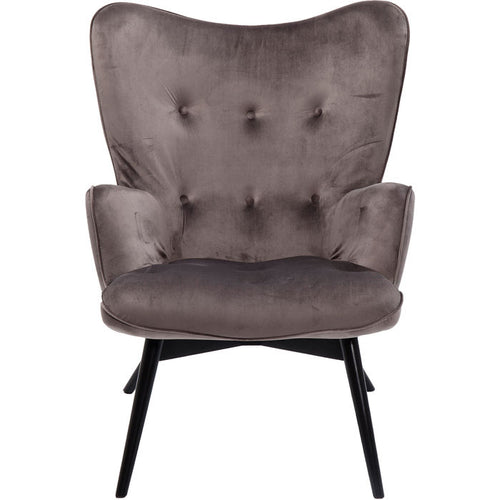 Armchair Vicky Velvet: Different colors available