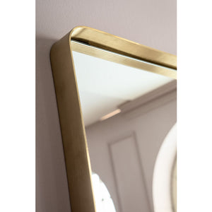 Mirror Curve Rectangular: different colors and sizes available