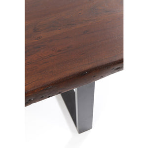 Table Black Nature Walnut 180x90cm