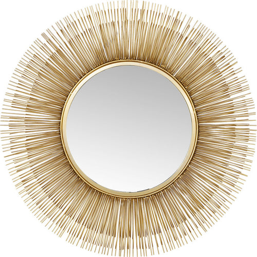 Mirror Sunburst Tre Gold Ø87cm