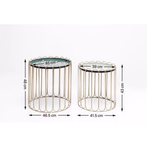 Side Table Cha Cha Cha (2/Set)