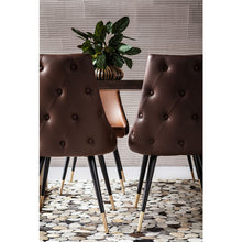 Load image into Gallery viewer, Set of 2 Chairs Urban Desire Brown